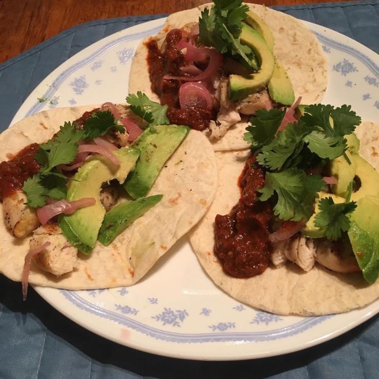 Taco plate.