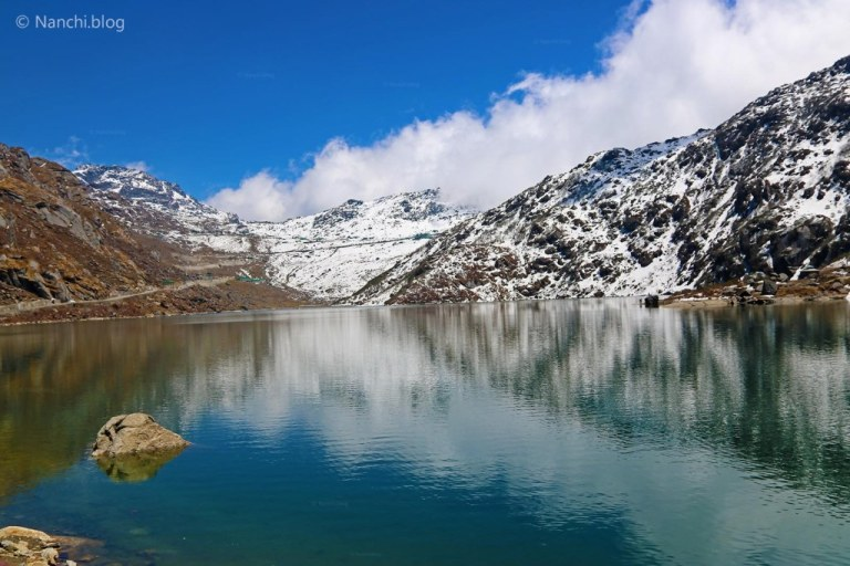 Tsomgo Lake, Changu Lake, Snow Clad Mountains and Lake, Sikkim